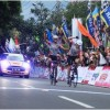 Finish Etape I Tour de Linggarjati