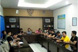 Rapat persiapan KNPI Cup II