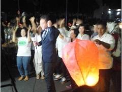 Jokowi-JK Dilantik, Komceu Goyang Lampion