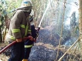 Belakang Kantor BJB  Nyaris Terbakar