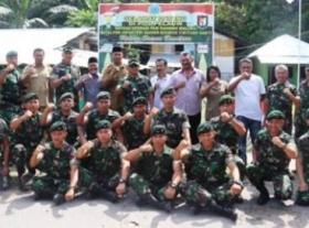 Irdam I/BB Kunjungi Satgas Pamrahwan