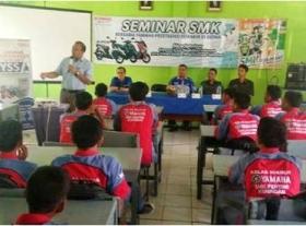 Seminar Teknologi Terbaru Yamaha di SMK Pertiwi
